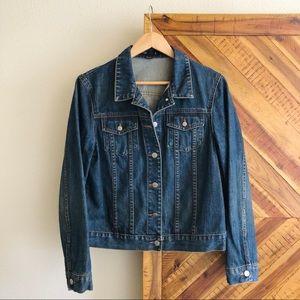 SOLD Women's J. Crew Classic Denim Jacket Size